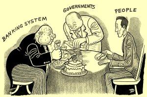 Χρεωκοπεί η Ελλάδα για να μην χρεωκοπήσει το τραπεζικό σύστημα…
