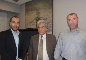 Συνάντηση βουλευτών Χρυσής Αυγής με τον πρόεδρο της ΔΕΗ