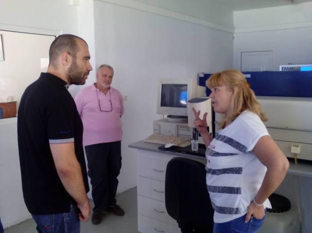 Επίσκεψη Ηλιόπουλου στην ΕΒΟΛ 1